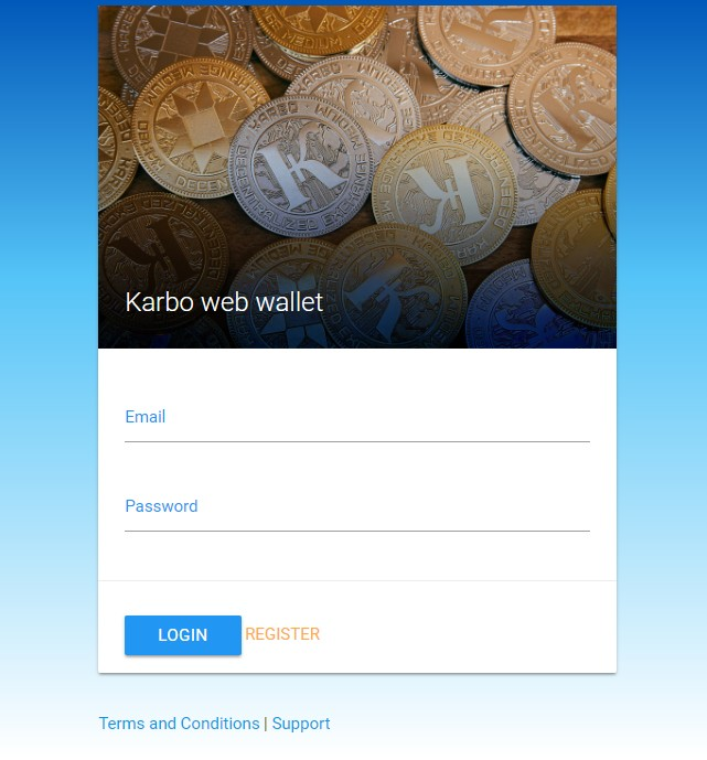 Web кошелек Карбо