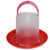 Вакуумные пластиковые поилки 3, 5 и 8 л. для птицы - Изображение 2